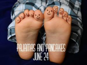 pajamas and pancakes